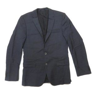 Hugo Boss Navy Blue Italian Suit Sport Coat Blazer